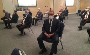 Aydın Ticaret Borsası Meclis Başkanı A.Bahri Erdel ve Yönetim Kurulu Başkan Yardımcısı Cengiz Ülgen, TMO-TOBB LİDAS, 11. Olağan Genel Kurul Toplantısı'na Katıldı