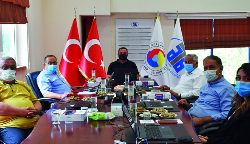 May 28, 2021 Aydın Commodity Exchange participated in TOBB 76.-77th General Assembly Meeting