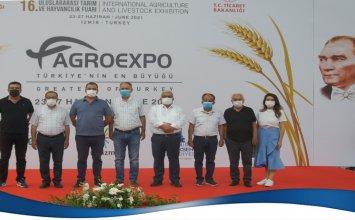 """Aydın Ticaret Borsası, """"Agroexpo Uluslararası Tarım ve Hayvancılık Fuarı""""nı Ziyaret Etti"""