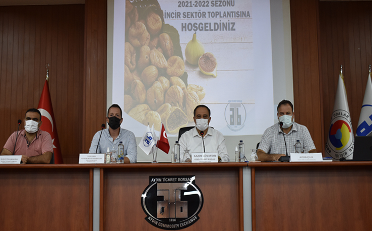 August 18, 2021-The Fig Sector Meeting Was Held At Aydın Commodity Exchange