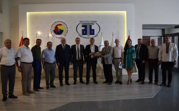 August 10, 2021- Aydın Commodity Exchange Hosted to Ukraine Committee