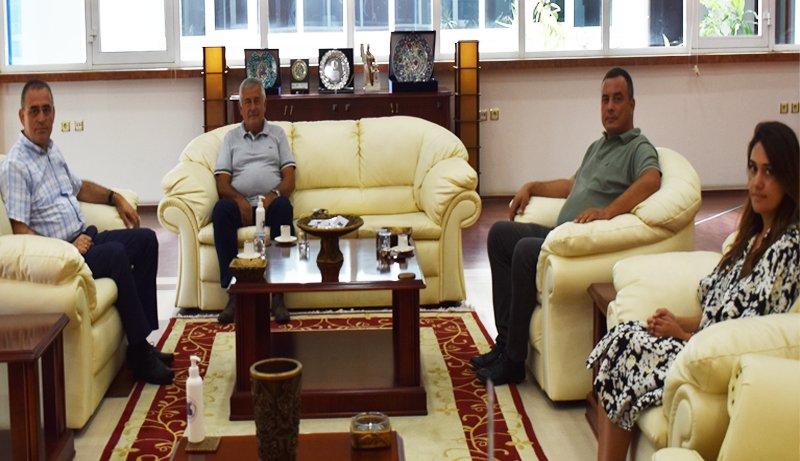 July 29, 2021- Aydın Provincial Agriculture and Forestry Director Ahmet Ökdem Visited To Aydın Commodity Exchange