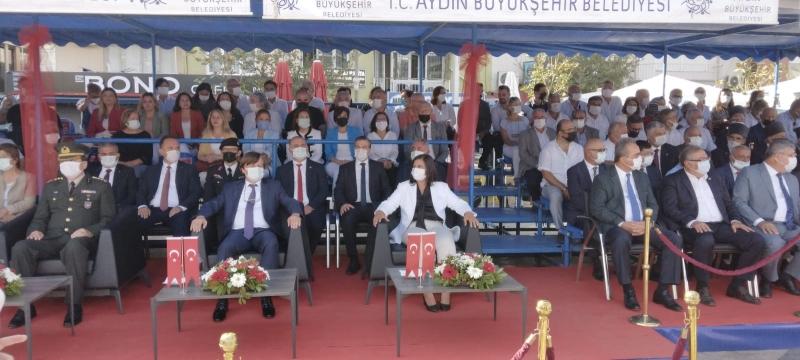 September 7, 2021- Aydın Commodity Exchange Speaker A.Bahri Erdel participated to The Liberation Day Celebrations of Aydın on September, 7