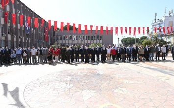 Aydın Commodity Exchange Speaker A.Bahri Erdel participated in the 19 September Veterans Day Commemoration Program