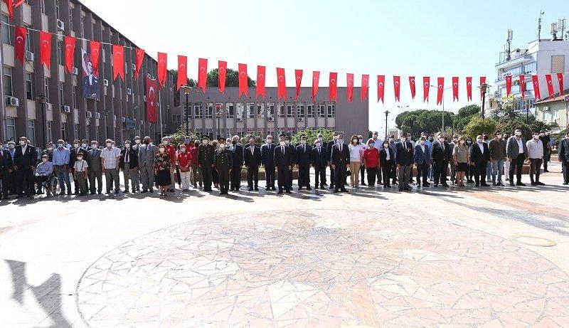 Aydın Ticaret Borsası Meclis Başkanı A. Bahri Erdel, 19 Eylül Gaziler Günü Anma Programı'na Katılım Sağladı