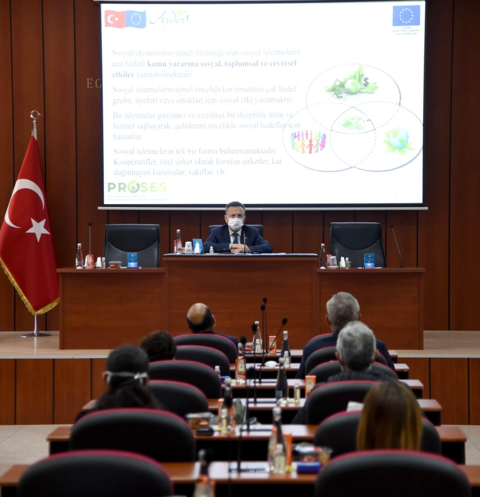 13.04.2021 Sürdürülebilir Tarım ve Kırsal Kalkınma için Sosyal Ekonominin Geliştirilmesi Projesinin Açılış Toplantısına Aydın Ticaret Borsası Yönetim Kurulu Başkanı Fevzi Çondur Katılım Sağladı