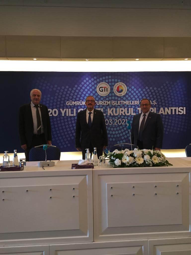 16.03.2021  ATB, GTİ 2020 Genel Kurul Toplantısı'na Katıldı