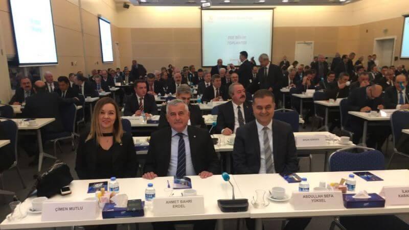 19.12.16 Ege Bölgesi Oda ve Borsa Başkanları TOBB'da Yapılan Bölge Toplantısında Buluştu.