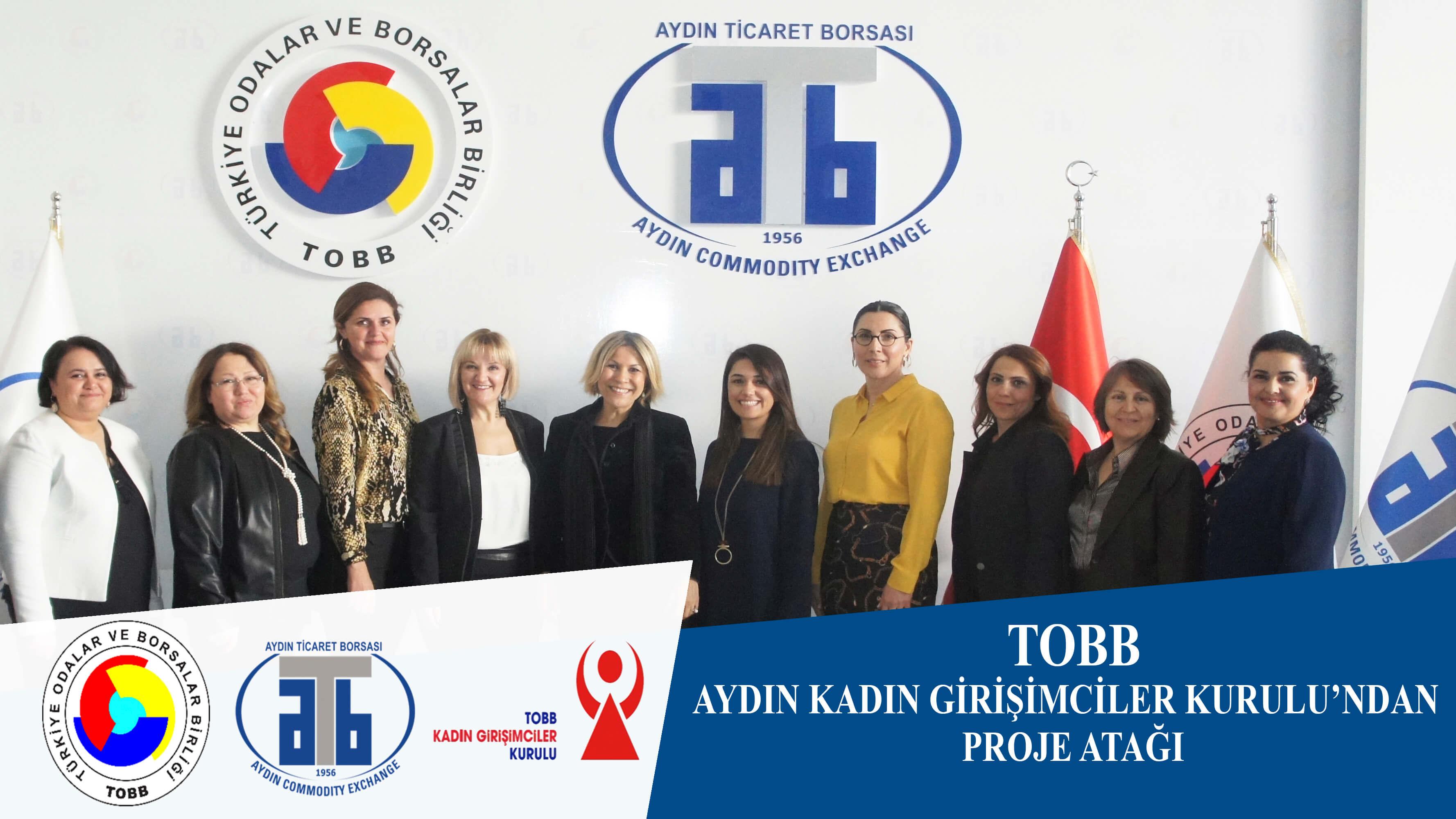 29.03.2021 TOBB Aydın Kadın Girişimciler Kurulu'ndan Proje Atağı
