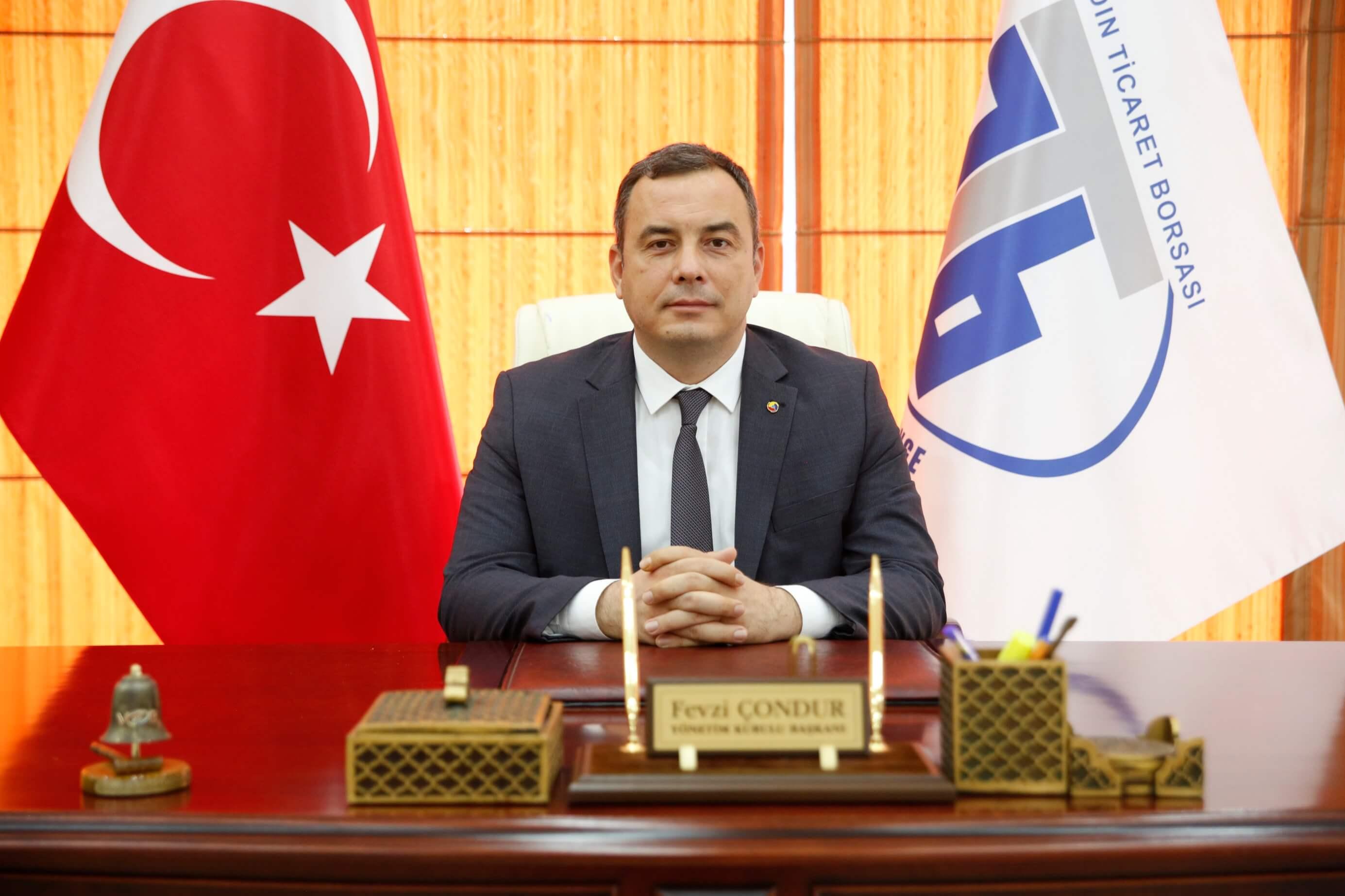 03.03.2021 Aydın Ticaret Borsası Yönetim Kurulu Başkanı Fevzi Çondur, Türkiye Büyüme Rakamlarını Değerlendirdi