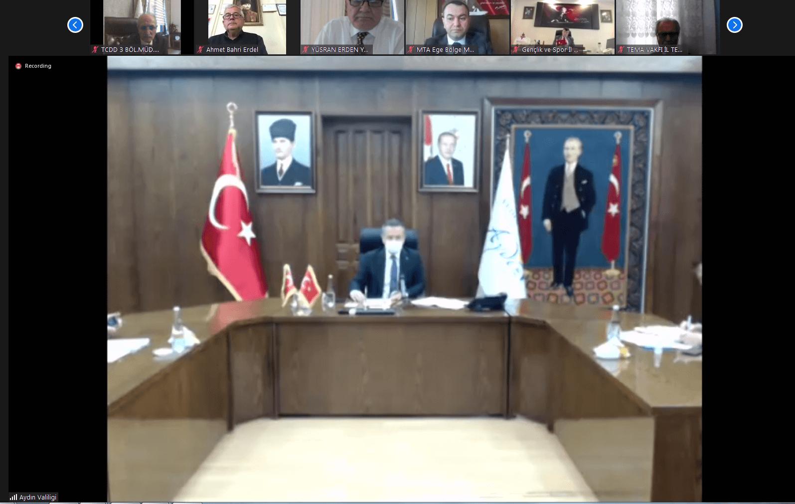 05.04.2021  ATB Meclis Başkanı A.Bahri Erdel, Aydın İl Koordinasyon Kurulu Toplantısı'na Katılım Sağladı