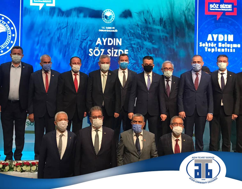 09.02.2021 ATB Başkanı Çondur,  Bakan Pakdemirli ye Ortak Akıl Toplantısı nda Sektörün Taleplerini İletti